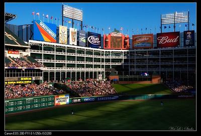 2008 Texas Rangers Vs. Toronto Blue Jays