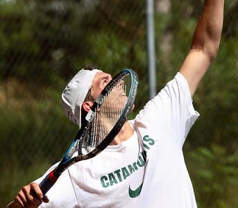Waterfront Tennis Tournament in Burlington, July 2008.