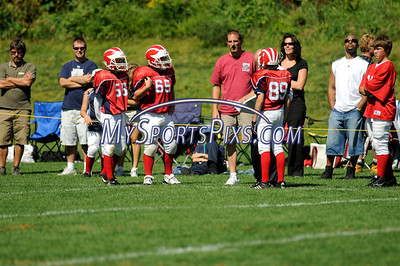 Bloomfield Raiders vs. New Hartford Wolverines A Team. 9/7/2008