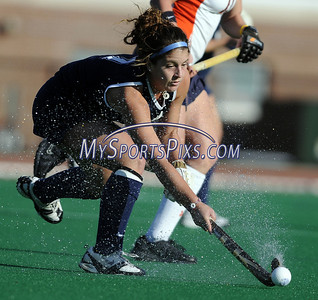 Uconn's Kim Krzyk (7) of Seaville, New Jersey during the Big East Field Hockey Championship on Sunday, November 9, 2008 in Storrs, Conn. Syracuse won 1-0 with a goal as time expired to claim the Big East title advancing to the NCAA's. Photo by Mike Orazzi   http://www.mikeorazziphotography.com/
