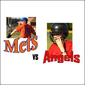 Mets / Wells Vs  . Angels - June 17