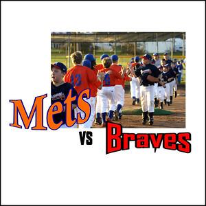 Mets / Wells Vs . Braves - Double Header - June 20