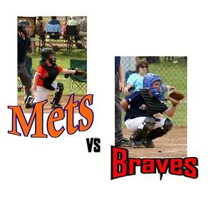 Mets / Wells Vs . Braves - May 22