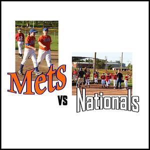Mets / Wells Vs . Nationals - June 13