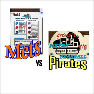 Mets / Wells Vs . Pirates - June 26