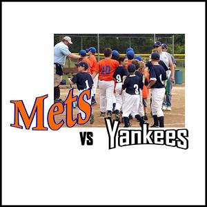 Mets / Wells Vs . Yankees - Double Header - June 21