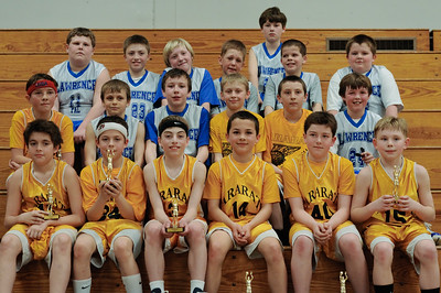 PAL Basketball Tourney - ARARAT/Lawrence Team Photo