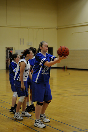 2010 MAMS 8th grade girls basketball