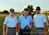 Our three game umpires.  The one in the center is from Australia.