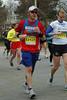 Near the 20 mile marker of the 2009 Boston Marathon