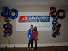 Me and Meg at the Dana Farber Marathon Challenge pre-race pasta party. Very nice event!