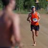 Johannes Rudolph of Boulder was the overall winner of the Boulder Marathon.<br /> Cliff Grassmick / September 20, 2009