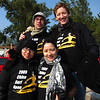 Contest attendees sporting new Bruce Lee surfing shirts.