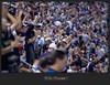celebrate Terrence Newman's interception TD