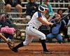 "#10 Nicole ""Nikki"" Marcoux reaches 1st-base on a fielder's choice."