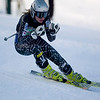 Record-Eagle/Jan-Michael Stump<br /> Traverse City Central's Maddy McLachlan won the giant slalom state title Monday at Boyne Mountain.