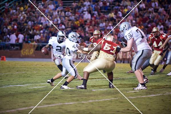 August 25, 2009 East Paulding Raiders vs Rome Wolves (25-22)