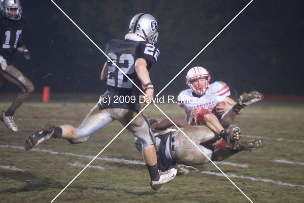 Cherokee Warriors played East Paulding Raiders at the Bone Yard.  Had East Paulding won, they would have been placed back into the fouth seed for the playoffs in 5-AAAAA