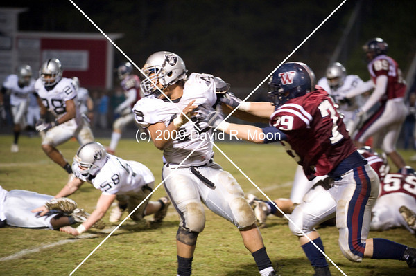 East Paulding final game of the season.