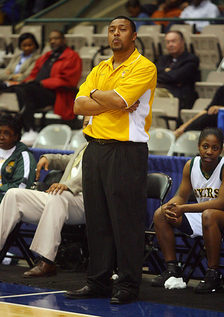 Coach Jason Thompson (Charles A. Smith/Special to the Daily Journal)