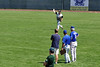 aCUE_5010 Jeremy Smith throws during outfield drills under the watchful eyes of three Kansas City Royals scouts