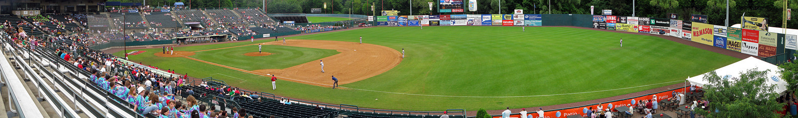 Panorama New Britain Stadium