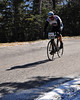 "Abe Wrobleski, of Center Conway NH, nears the end of ""The Toughest Two"" on The Mt. Washington Auto Road, which is stage one of  a 3 stage event -The Porky Gulch Classic bicycle race, held Nov 7th & 8th, and organized by Great Glen Trails, in Gorham NH."