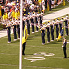 "Talented ""Bones"" section of the University of Michigan Marching Band"