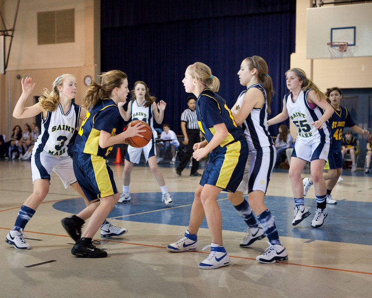 St Joseph 8th Grade Basketball Team, Janaury 2009 (11 of 22)