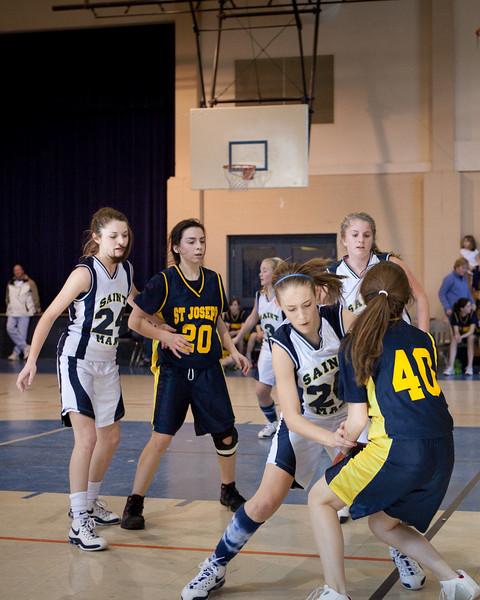 St Joseph 8th Grade Basketball Team, Janaury 2009 (5 of 22)
