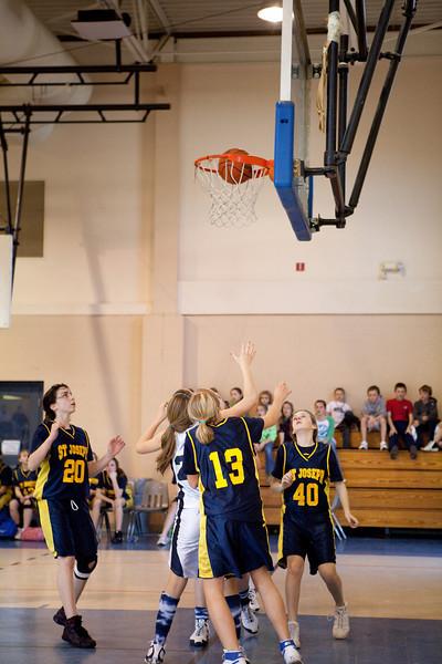 St Joseph 8th Grade Basketball Team, Janaury 2009 (73 of 74)