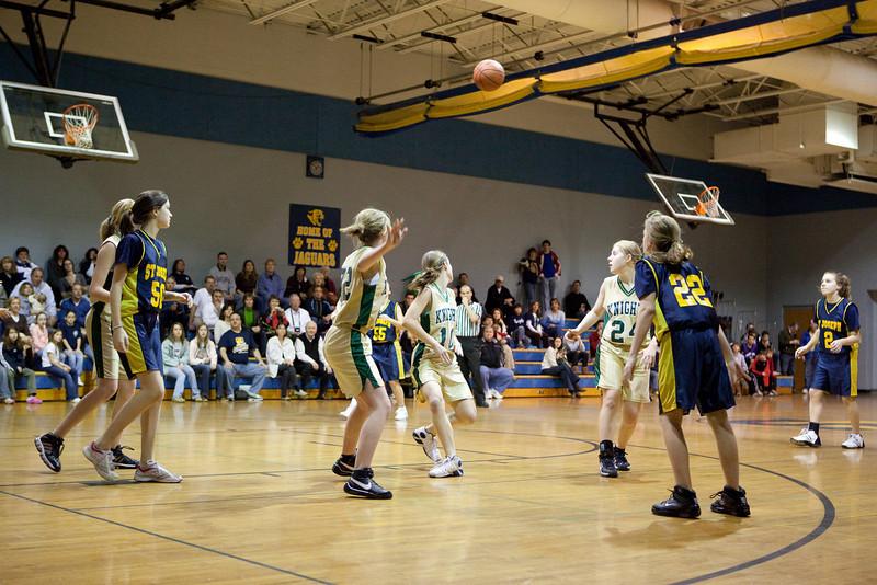 St Joseph 8th Grade Basketball Team, Janaury 2009 (4 of 74)