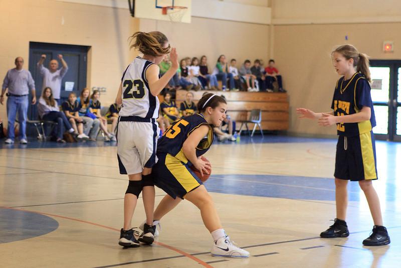 St Joseph 8th Grade Basketball Team, Janaury 2009 (37 of 74)