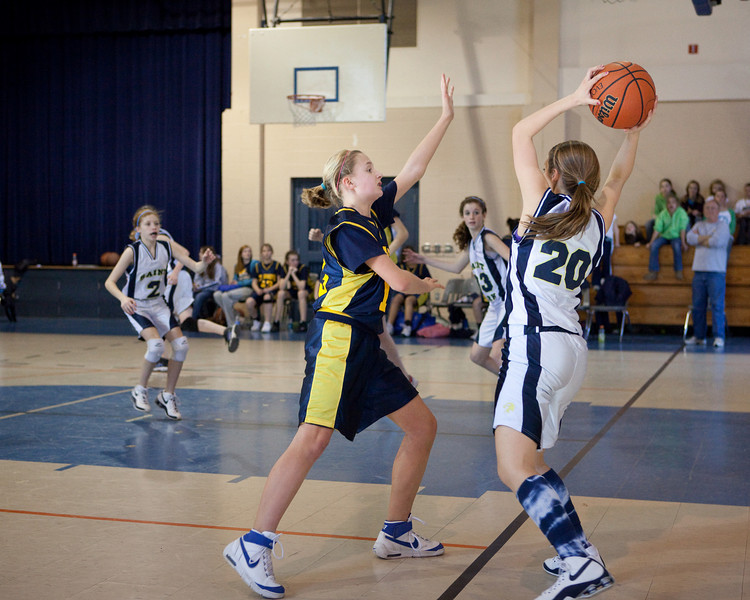 St Joseph 8th Grade Basketball Team, Janaury 2009 (15 of 22)