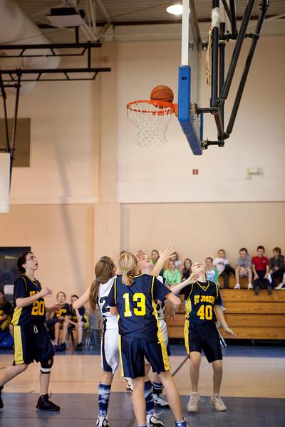 St Joseph 8th Grade Basketball Team, Janaury 2009 (72 of 74)