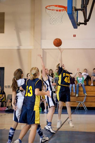 St Joseph 8th Grade Basketball Team, Janaury 2009 (70 of 74)