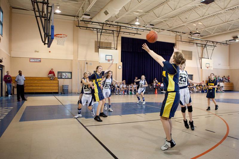 St Joseph 8th Grade Basketball Team, Janaury 2009 (53 of 74)