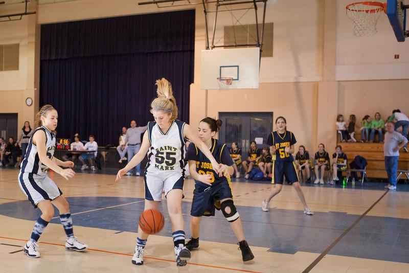 St Joseph 8th Grade Basketball Team, Janaury 2009 (62 of 74)