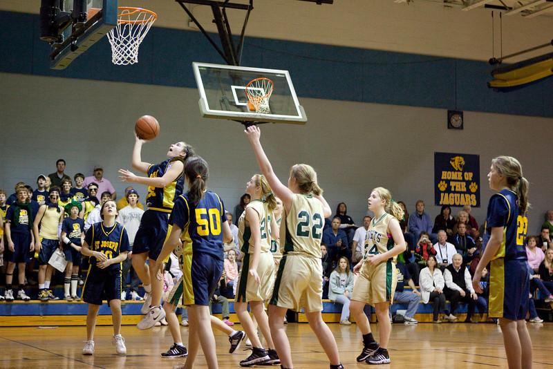 St Joseph 8th Grade Basketball Team, Janaury 2009 (5 of 74)