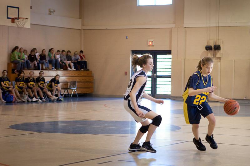 St Joseph 8th Grade Basketball Team, Janaury 2009 (35 of 74)