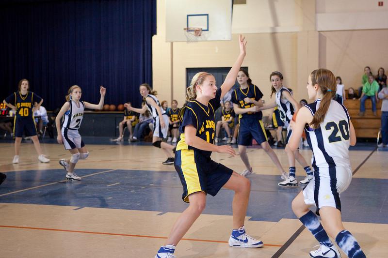 St Joseph 8th Grade Basketball Team, Janaury 2009 (14 of 22)