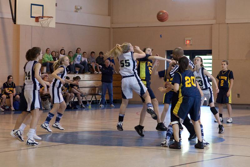 St Joseph 8th Grade Basketball Team, Janaury 2009 (33 of 74)