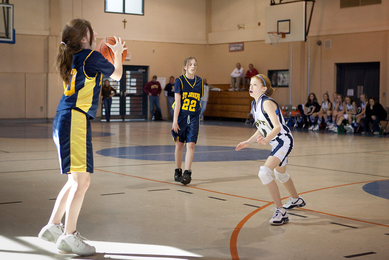St Joseph 8th Grade Basketball Team, Janaury 2009 (18 of 22)