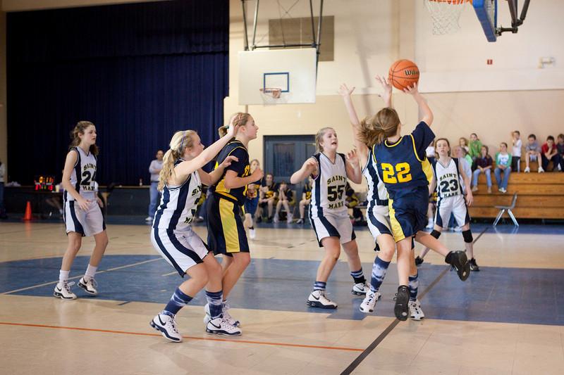 St Joseph 8th Grade Basketball Team, Janaury 2009 (8 of 22)