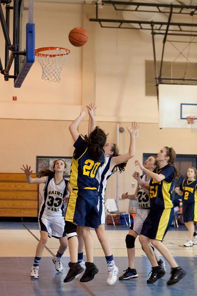 St Joseph 8th Grade Basketball Team, Janaury 2009 (50 of 74)