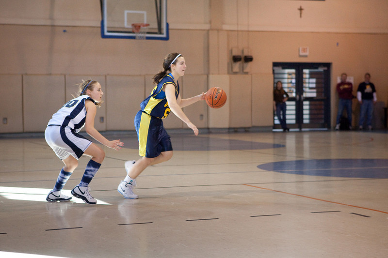 St Joseph 8th Grade Basketball Team, Janaury 2009 (20 of 22)