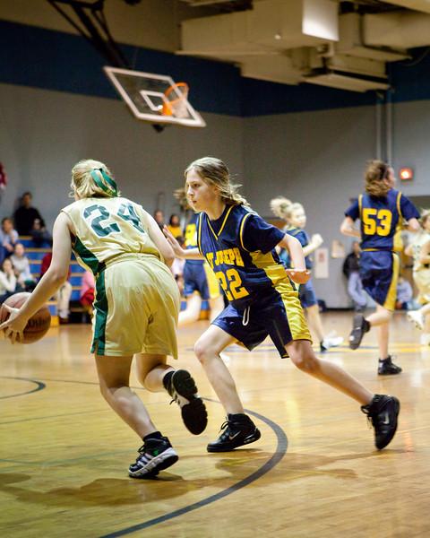 St Joseph 8th Grade Basketball Team, Janaury 2009 (19 of 74)