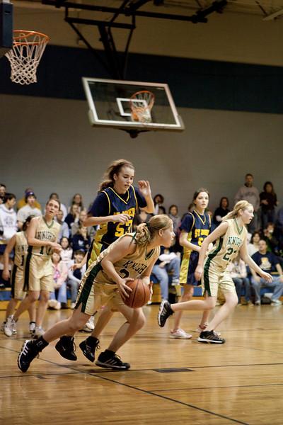 St Joseph 8th Grade Basketball Team, Janaury 2009 (15 of 74)