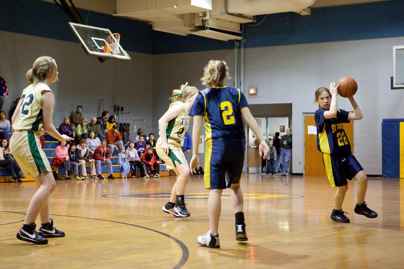 St Joseph 8th Grade Basketball Team, Janaury 2009 (1 of 74)