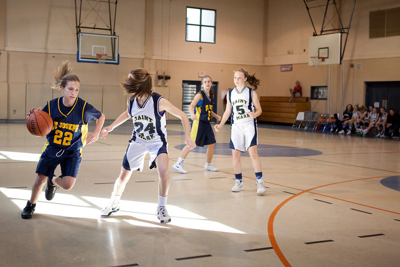 St Joseph 8th Grade Basketball Team, Janaury 2009 (63 of 74)